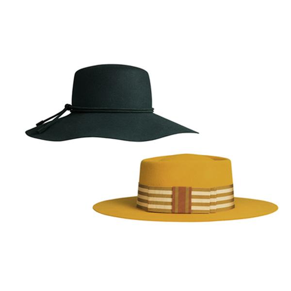 戴上愛馬仕帽子來一場城市嬉戲